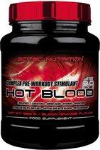 Scitec Nutrition - Hot Blood 3.0 - complex pre workout stimulant - 820 gram - Blood Orange