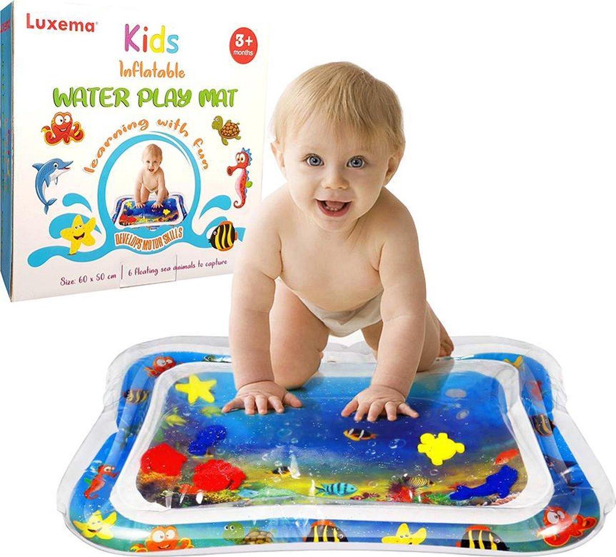 Luxema  - Originele Baby Opblaasbare Waterspeelmat - Hoge Kwaliteit - Babyspeelgoed - Water Speelmat