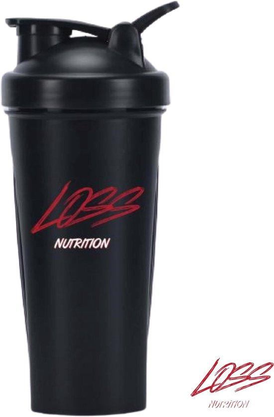 ⭐Loss Nutrition Shakebeker / Shaker / Drinkfles / Bidon / Fitness / RVS / Smoothie maker / Drinkflessen / Shakebeker RVS