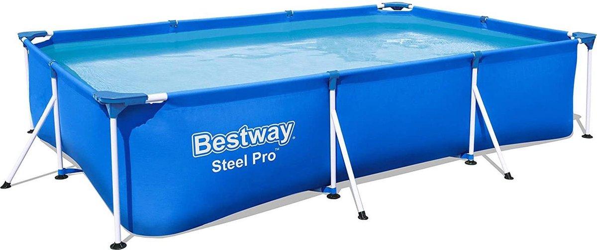 Familie Zwembad opbouw Bestway Frame 300 x 201 x 66 cm. Met 2 GRATIS zwembanden - Zwemmen.