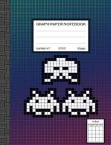 Graph Paper Notebook: Quad Ruled Graph Composition Notebook 4 Squares Per Inch