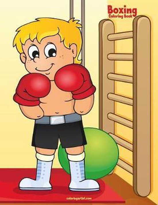 Boxing Coloring Book