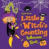 Little Witch's Counting Halloween Book: Children's Halloween Book for Girls Ages 2-5