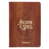 Journal Classic Brown Anchor for the Soul