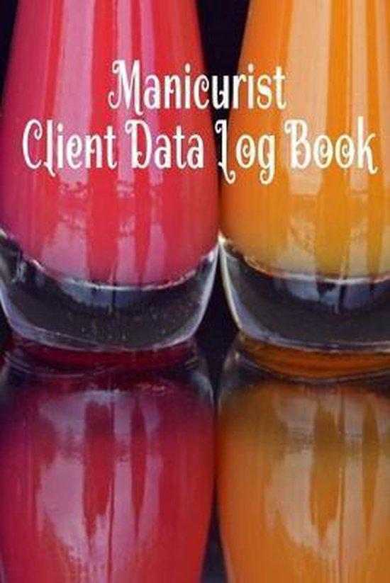 Manicurist Client Data Log Book