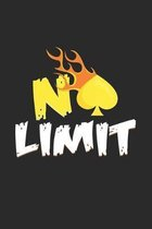 No Limit: 6x9 Poker - grid - squared paper - notebook - notes
