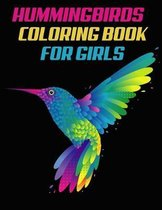 Hummingbirds Coloring Book for girls