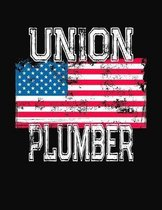 Union Plumber: College Ruled Composition Notebook