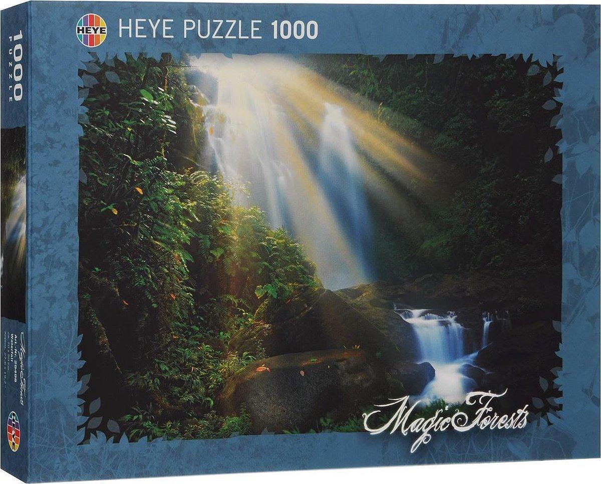 Magic Forest Collection Waterfall - Puzzel - 1000 stukjes