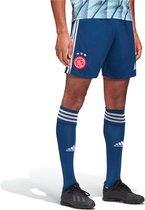 adidas Ajax Uitshort 2020-2021 Mannen - Donkerblauw - Maat M