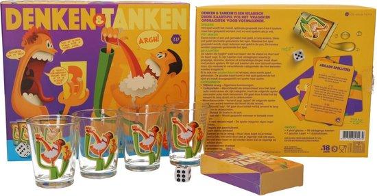 Denken & Tanken kaartspel - Drankspel - Alcohol - Drinkspel