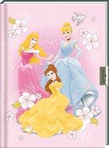 dagboek met slot met afbeelding van Disney Prinses Dagboek - vrienden boekje -