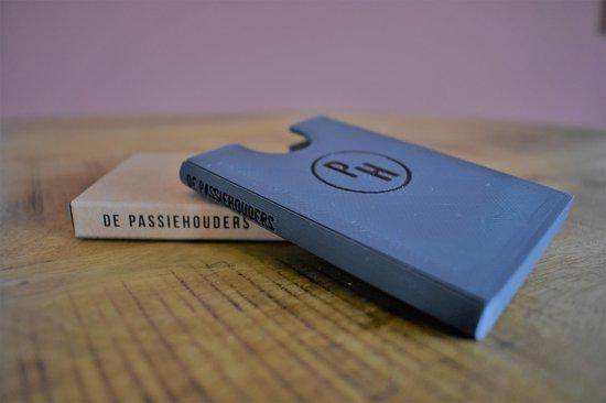 De Passiehouders - Pasjeshouder - Grijs - 6 pasjes - Creditcardhouder