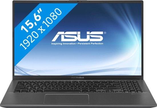 ASUS VivoBook 15 P1504JA-EJ485T Notebook Grijs 39,6 cm (15.6'') 1920 x 1080 Pixels Intel® 10de generatie Core™ i5 8 GB DDR4-SDRAM 128 GB SSD Wi-Fi 5 (802.11ac) Windows 10 Home