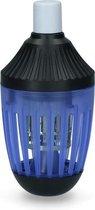 Insectenlamp voor binen en buiten - Vangstbereik 50 m². - 9,5 x 19,5 cm - Muggenlamp Vliegenlamp Insectenkiller