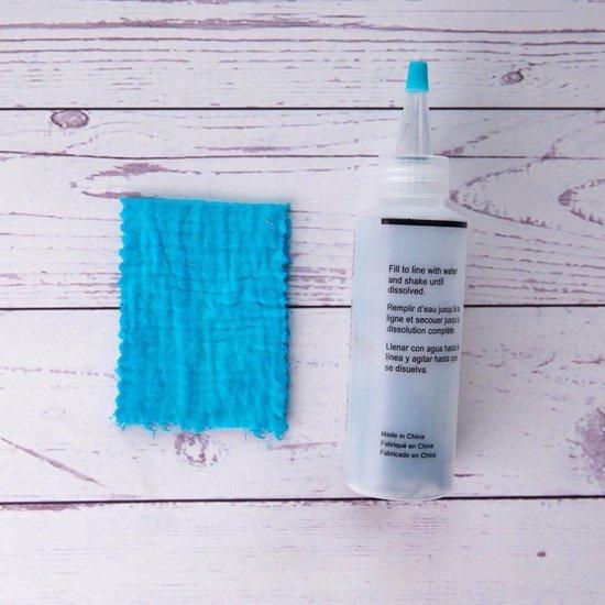 Tie Dye Kit II Verf Set Textielverf 5 Kleuren 120ml - T Shirt Tie Dye Set Incl Elastiek & Handschoenen – Tie Dye Paint - Kindvriendelijk - Hoog kwaliteit