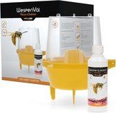Wespenval professionele val voor wespen - Inclusief wespenlokstof - wespenvanger voor binnen en buiten