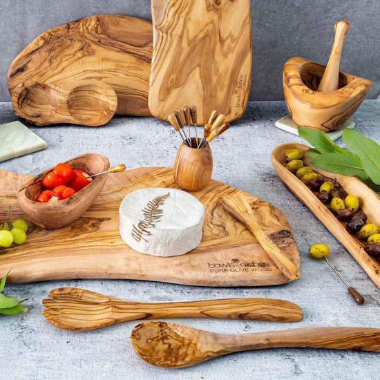 Bowls and Dishes Serveerplank Rustique met handvat 40-45 cm