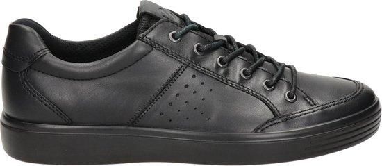 Ecco Soft Classic heren sneaker - Zwart - Maat 46