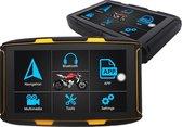 motor navigatie met gratis instalatie pakket bevestegingen en oplaadpakket - motor navigatie systeem - auto navigatie systeem - GPS motor navigatie - GPS auto navigatie - GPS fiets navigatie- android GPS motor navigatie - android GPS auto navigatie