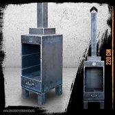 BadBoysBrand Sparta Tuinhaard - 220 cm - Staal - 100% Made in Jail