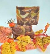 Indian Summer Zeep - handgemaakte natuurlijke zeep  /  Savon naturel artisanal - Indian Summer