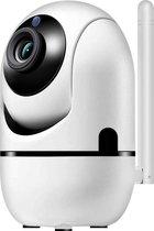 IP Camera met Bewegingsdetectie – WiFi Beveiligingscamera – Bewakingscamera – Babyfoon met camera – Huisdiercamera - Hondencamera – Wit