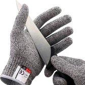 Snijbestendige handschoenen - Anti Snijhandschoenen - Geschikt in de Keuken - Werkhandschoenen - Veiligheidshandschoenen - Snijwerende handschoenen - Maat L