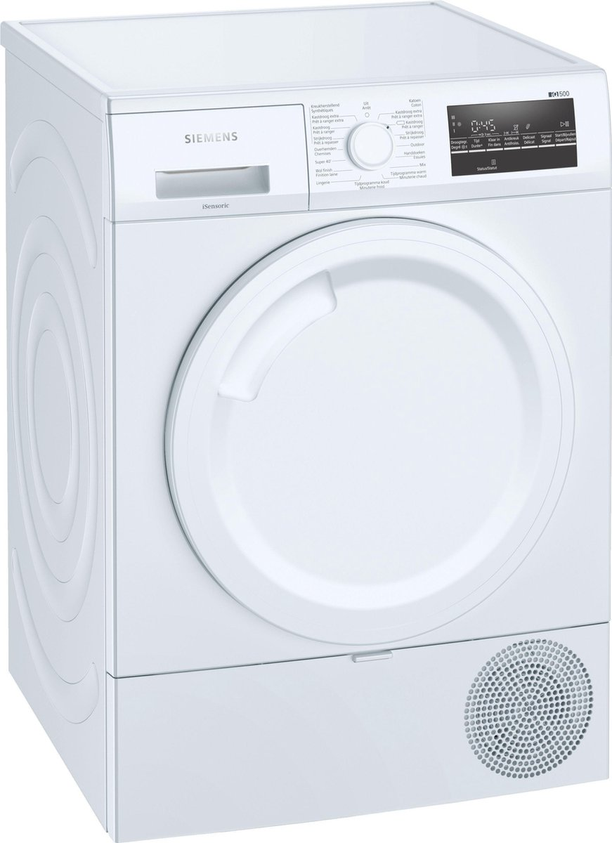 Siemens WT43RTE0FG – iQ500 – Warmtepompdroger – NL/FR