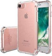 Transparant TPU Siliconen Case backcover Hoesje voor iPhone 8 (verstevigde randen)