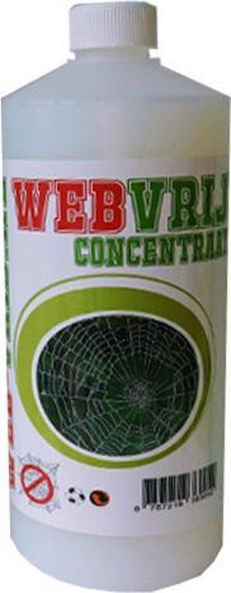 Web Vrij Concentraat - 1 Liter | Spinnen bestrijding| Web free| spinnen spray| spinnen verjager| , etc.