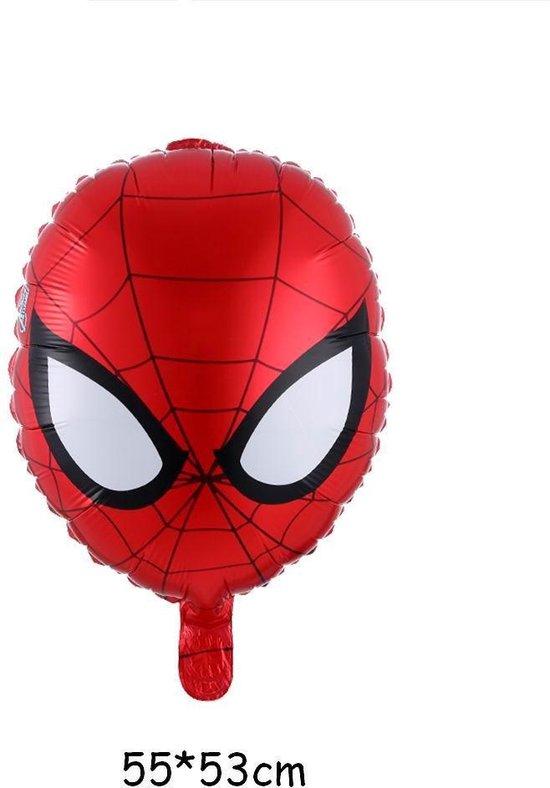 Folieballon Spiderman masker (31159)
