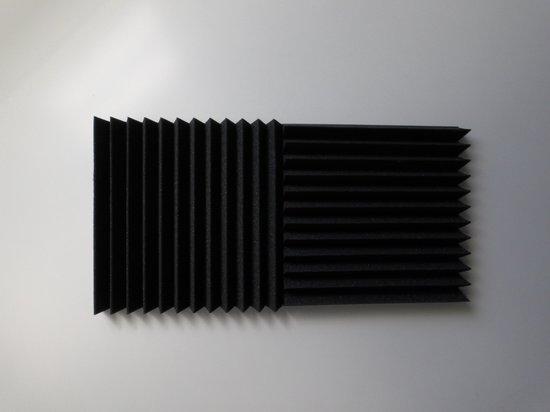 Wedge studioschuim (antraciet), 30x30x5CM, 6 stuks, zeer voordelig , deze panelen zijn een aanwinst voor uw studio of kamer.
