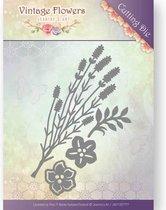 Mal  - Jeanine's Art - Vintage Bloemen - Vintage Bladeren