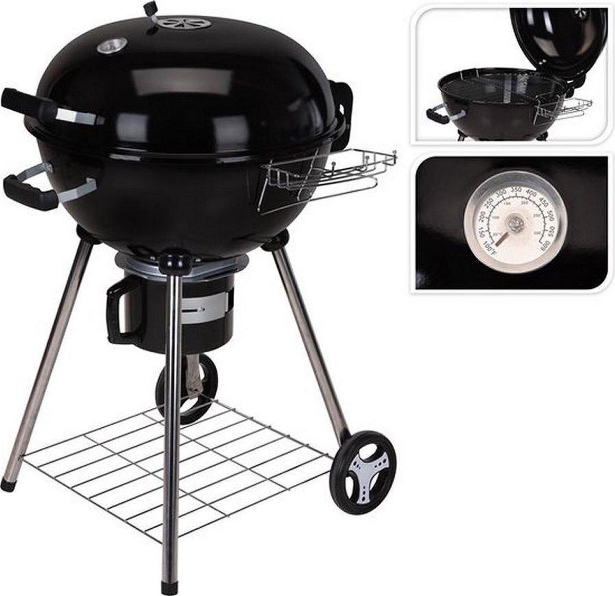 BBQ Houtskool Barbecue - Grilloppervlak 44 x 32 cm | Zwart