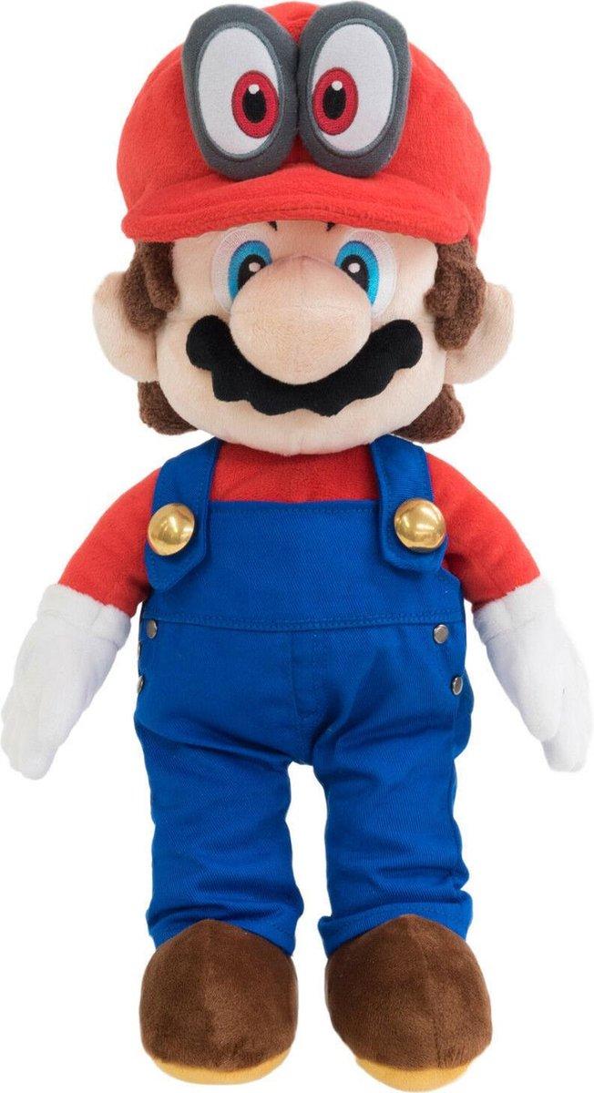 Super Mario Odyssey: Mario - 40 cm -Pluche