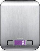 Keukenweegschaal Digitaal Zilver Gunter - Weegscha