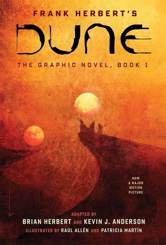 Boek cover DUNE: The Graphic Novel, Book 1 van Frank Herbert (Hardcover)