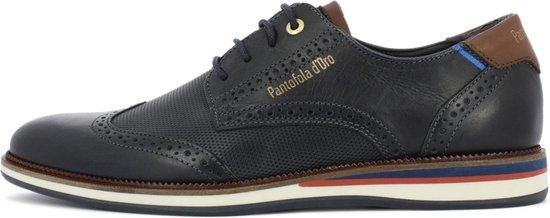 Pantofola d'Oro Rubicon Uomo Lage Donker Blauwe Heren Sneaker 41