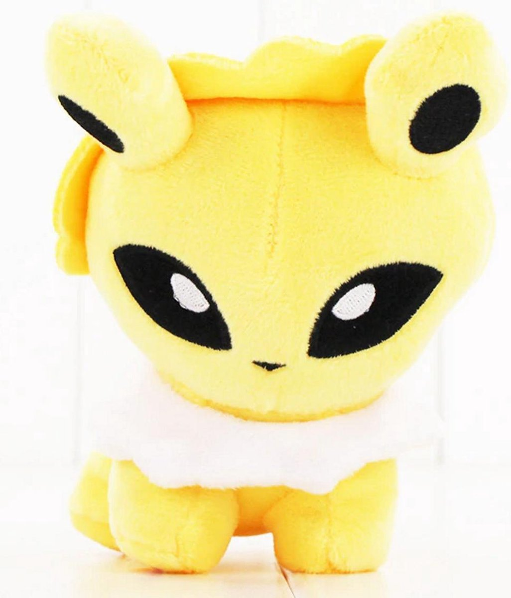Knuffel Pokemon Jolteon - bekend van de TV - creator - Pokémon - pokéball - speelgoed - Plushe