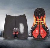 Fiets onderbroek - Gel racefiets ondergoed - schokbestendig wielrenners shorts PRO - 3XL