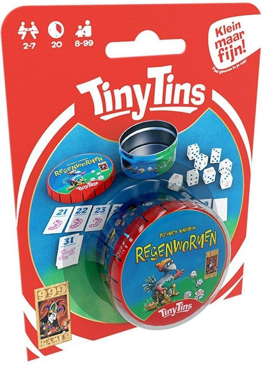 Tiny Tins: Regenwormen (los) Dobbelspel