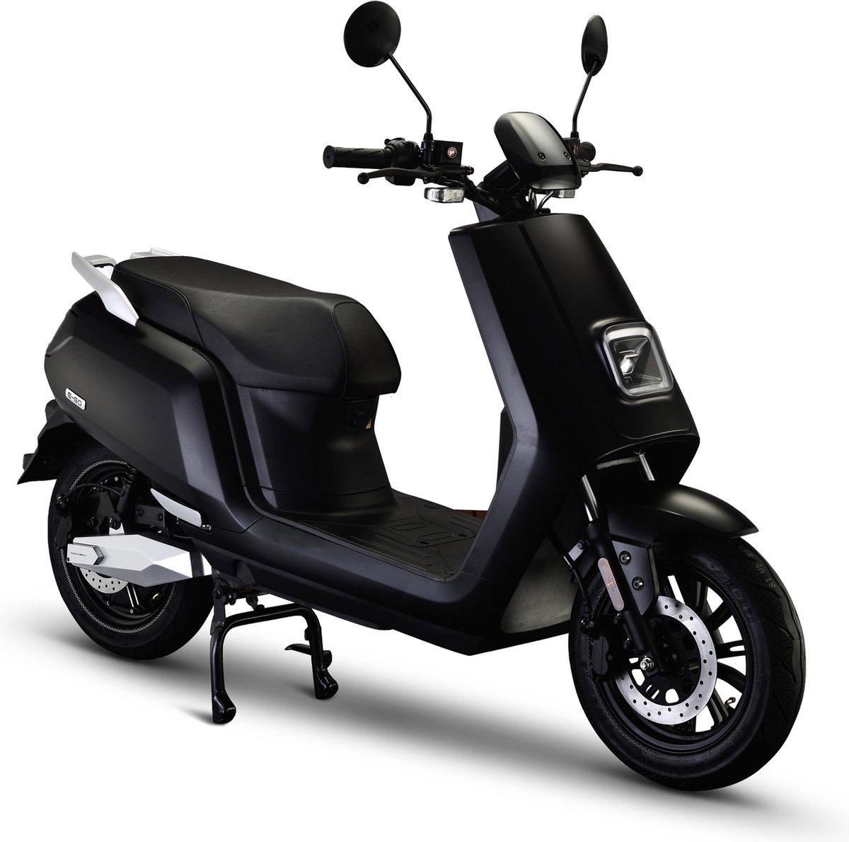 IVA E-GO S5 Elektrische Scooter Matzwart