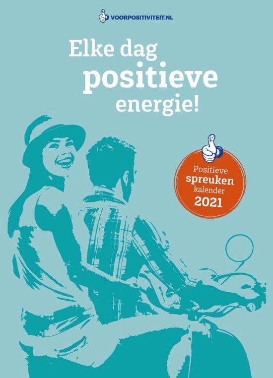 Boek cover Positieve spreuken scheurkalender 2021 van Mark Verhees (Hardcover)