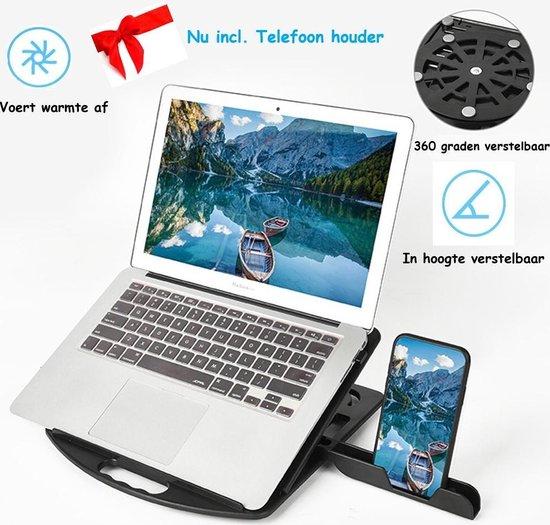 Bol Com Laptop Standaard Telefoon Houder Black Friday Deal 360 Graden Verstelbaar