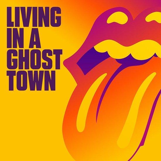 CD cover van Living In A Ghost Town (CD-Single) van The Rolling Stones