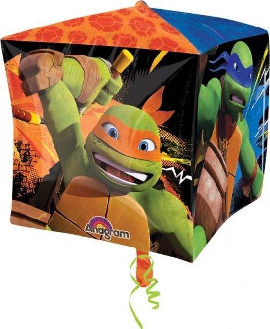 Ninja Turtles Helium Ballon Kubus 38x38cm leeg