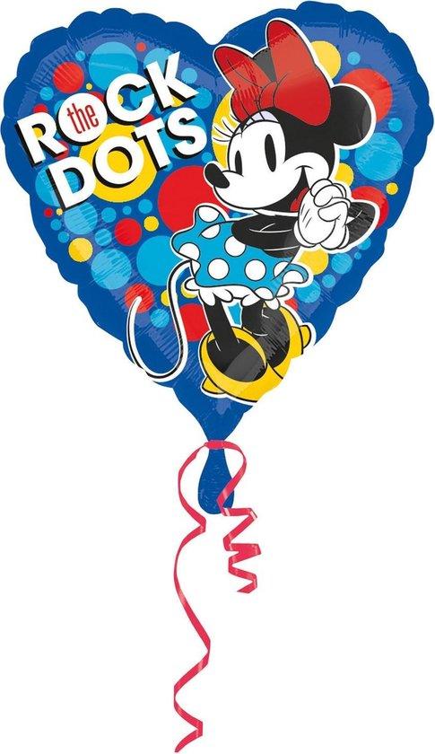 Minnie Mouse Helium Ballon Hart 43cm leeg