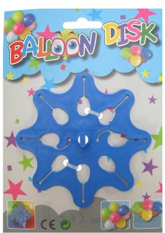 Een ballon disk voor ballonnen trossen te maken