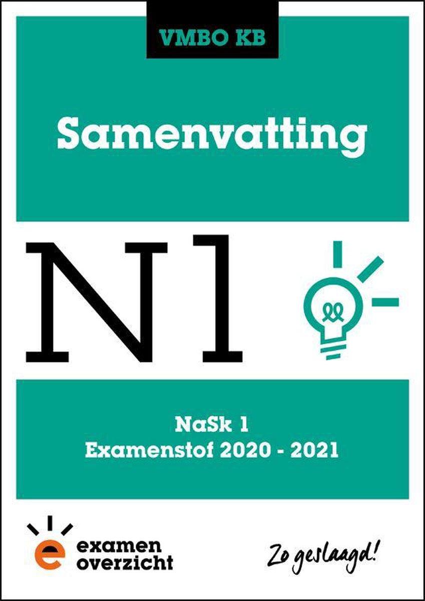 ExamenOverzicht - Samenvatting NaSk 1 VMBO KB
